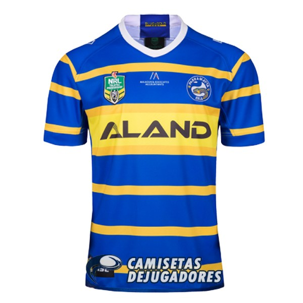 parramatta eels rugby local 2018 2019 camiseta